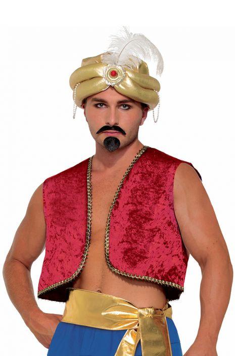 Genie vest adult costume red jpg 465x705 Three wishes costumes 70ff20301
