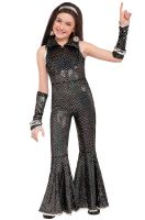 Disco Jumpsuit Child Costume (Large)
