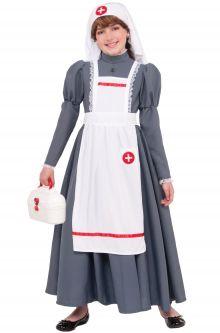 Back to School Costumes Civil War Nurse Child Costume
