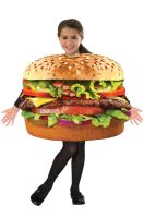 Hamburger Child Costume