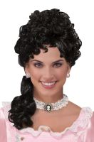 Colonial Lady Wig (Black)
