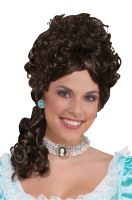 Colonial Lady Wig (Brown)