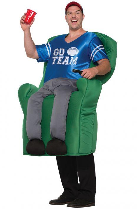Superior Armchair Quarterback Adult Costume