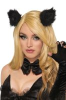 Black Cat Clip-On Ears