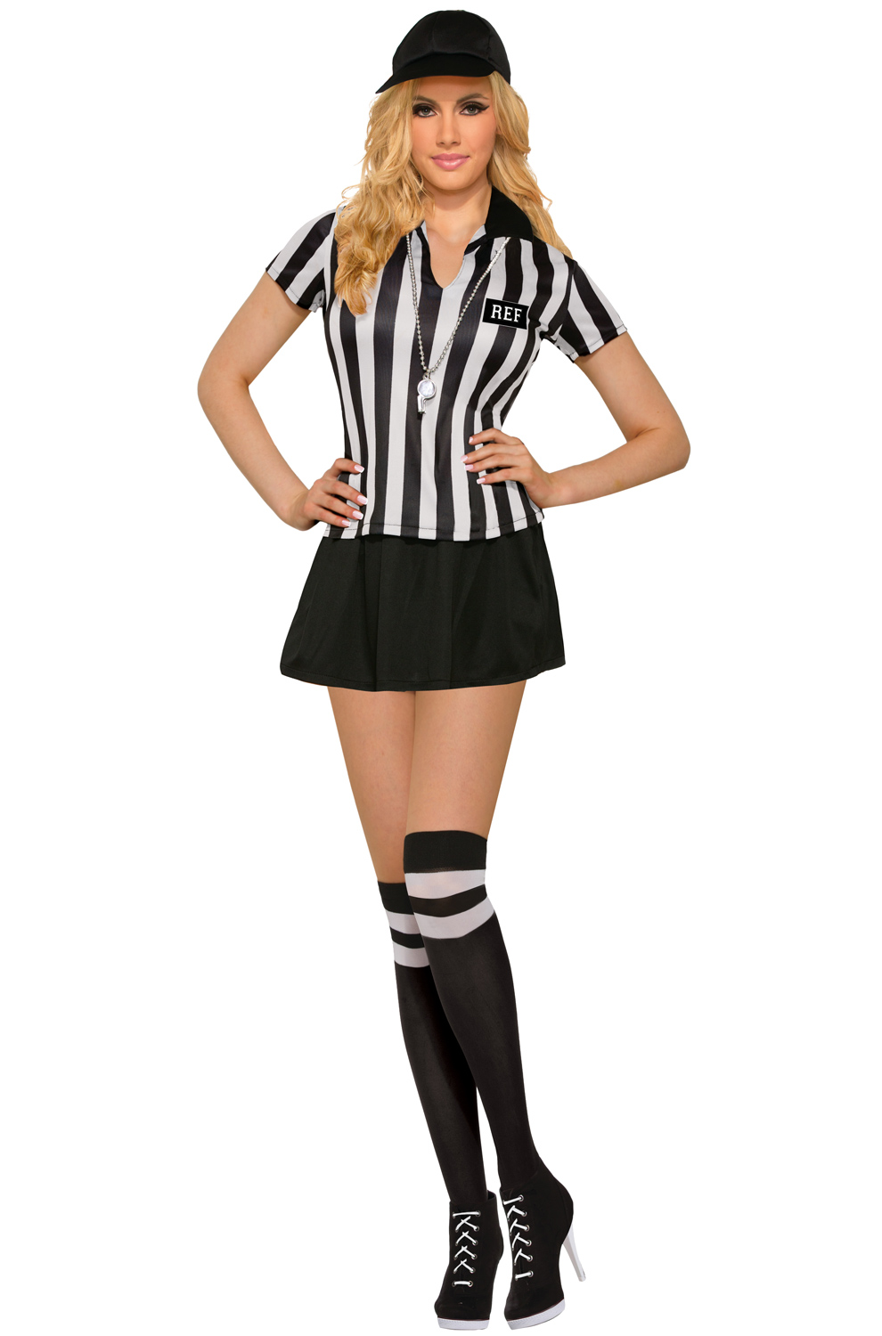 Sexy Referee Dress Adult Costume  sc 1 st  Pure Costumes & Referee Costumes u0026 Uniforms - PureCostumes.com