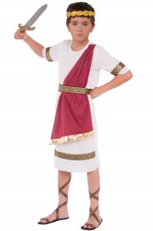 Back to School Costumes Caesar Child Costume