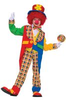 Clown on the Town Child Costume (XL)