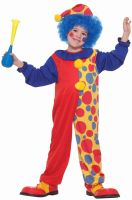 Clown on the Town Toddler Costume