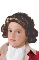Child Colonial Boy Wig (Brown)
