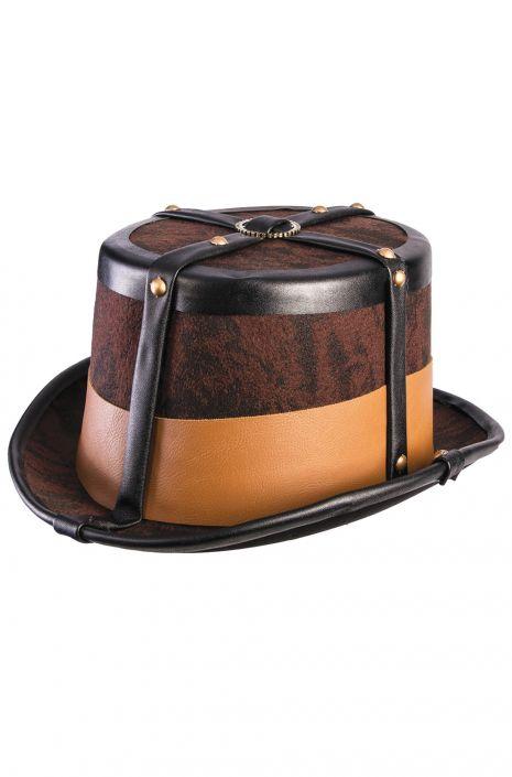 bbf3953c985895 Steampunk Top Hat - PureCostumes.com