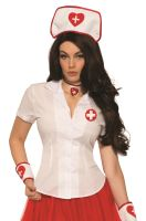 Sexy Nurse Shirt Adult Costume