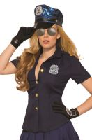 Sexy Police Shirt Adult Costume
