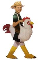 Ride-a-Chicken Child Costume