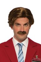 Anchorman Ron Burgundy Adult Wig & Moustache