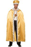 Adult Royal Cape (Gold)