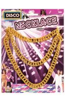 Long Disco Chain Necklace
