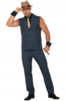 Tough Tony the Gangster Adult Costume  sc 1 st  Pure Costumes & Gangster Costumes - PureCostumes.com