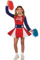 Cheerleader Child Costume (Large)