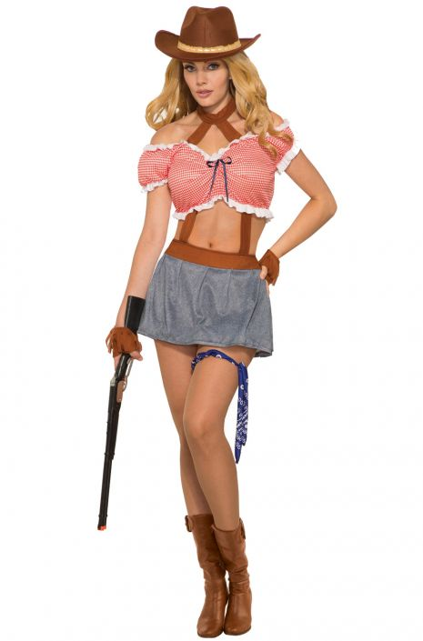 ride em cowgirl adult costume