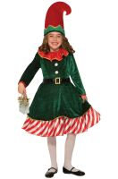 Santa's Li'l Elf Child Costume (Small)