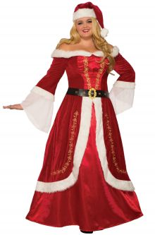 Premium Mrs. Claus Plus Size Costume ...  sc 1 st  Pure Costumes : wicked stepmother costume  - Germanpascual.Com