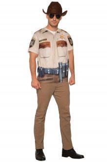 Sheriff Man Adult Costume (Medium)  sc 1 st  Pure Costumes & Adult Police Costumes - PureCostumes.com