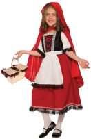 Pretty Red Riding Hood Deluxe Child Costume (Small)