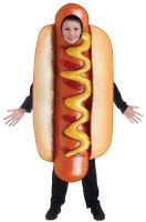 Realistic Hot Dog Child Costume