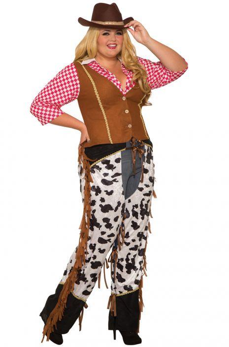 Cowgirl Plus Size Costume - PureCostumes.com 586f58afc