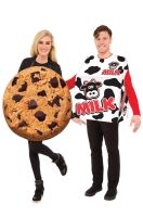 Milk & Cookie Set Adult Costume (Pair)