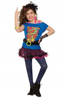 Totally 80u0027s Child Costume (Medium)