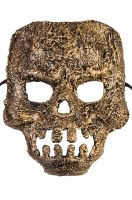 Textured Skull Mask (Gold)