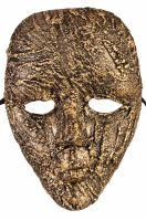 Textured Face Mask (Gold)
