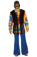 Tie Dye Dude Adult Costume