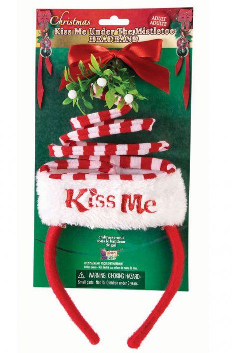 Christmas Kiss 3.Christmas Kiss Me Headband