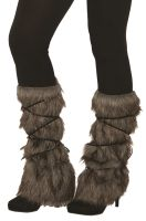 Warrior Fur Leg Guards