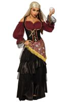 Dark Fortune Teller Female Adult Costume