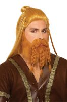 Deluxe Viking Male Warrior Wig and Beard