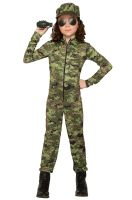 Army Girl Child Costume (Small)