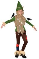 Playful Scarecrow Child Costume (Large)