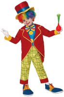 Funny Clown Child Costume (Medium)