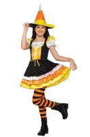 Little Miss Candy Corn Toddler Costume