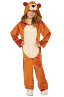 Teddy Bear Jumpsuit Child Costume (Medium)