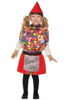 Gumball Machine Toddler Costume