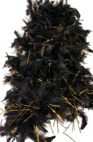 Roaring 20's Boa (Black/Gold)