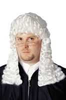 Official Judge Costume Wig (White)