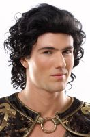 Hunk Costume Wig (Black)