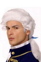 George Costume Wig (White)
