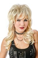 Lady Rocker Adult Wig