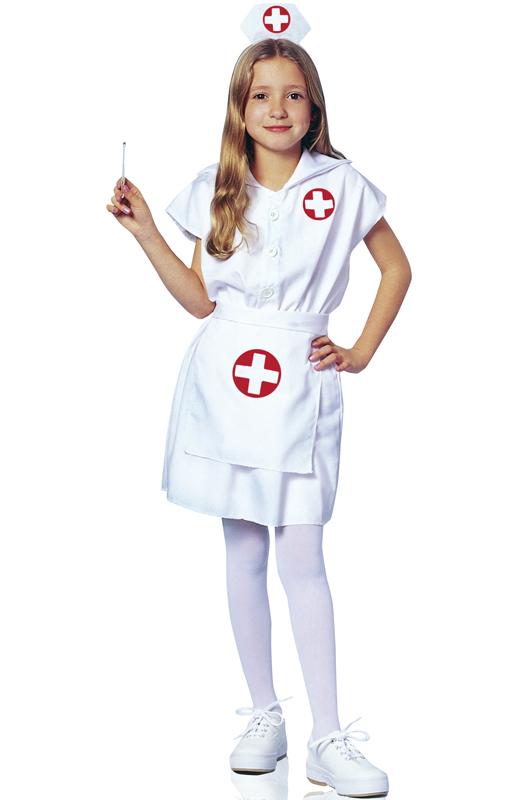 Lilu0026#39; Nurse Doctor Child Halloween Costume   eBay